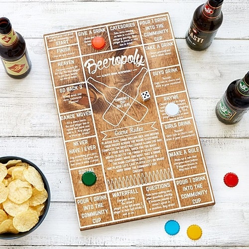 Beeropoly - Beer Gifts for Dad