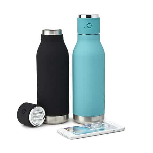 Bluetooth Speaker & Water Bottle