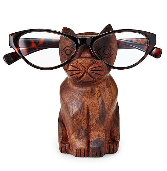 Cat Eyeglasses Holder - Desk Gifts for Men