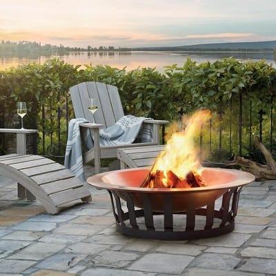 Classic Copper Fire Pit