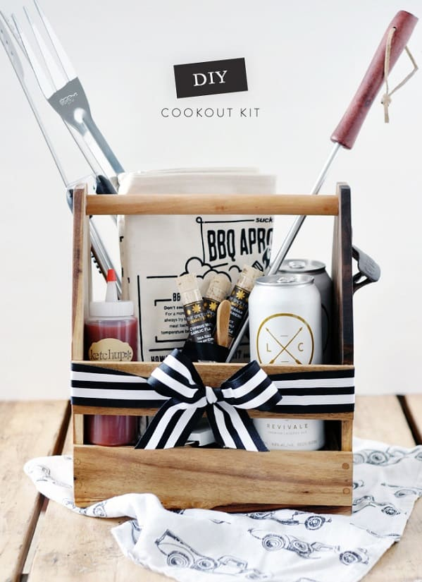 DIY Cookout Kit - Father's Day DIY