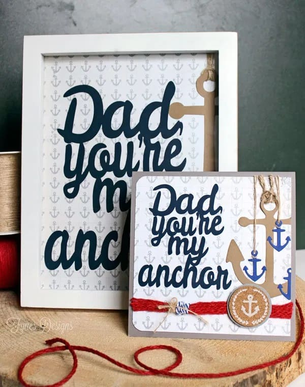 DIY Father's Day Frame Or Card