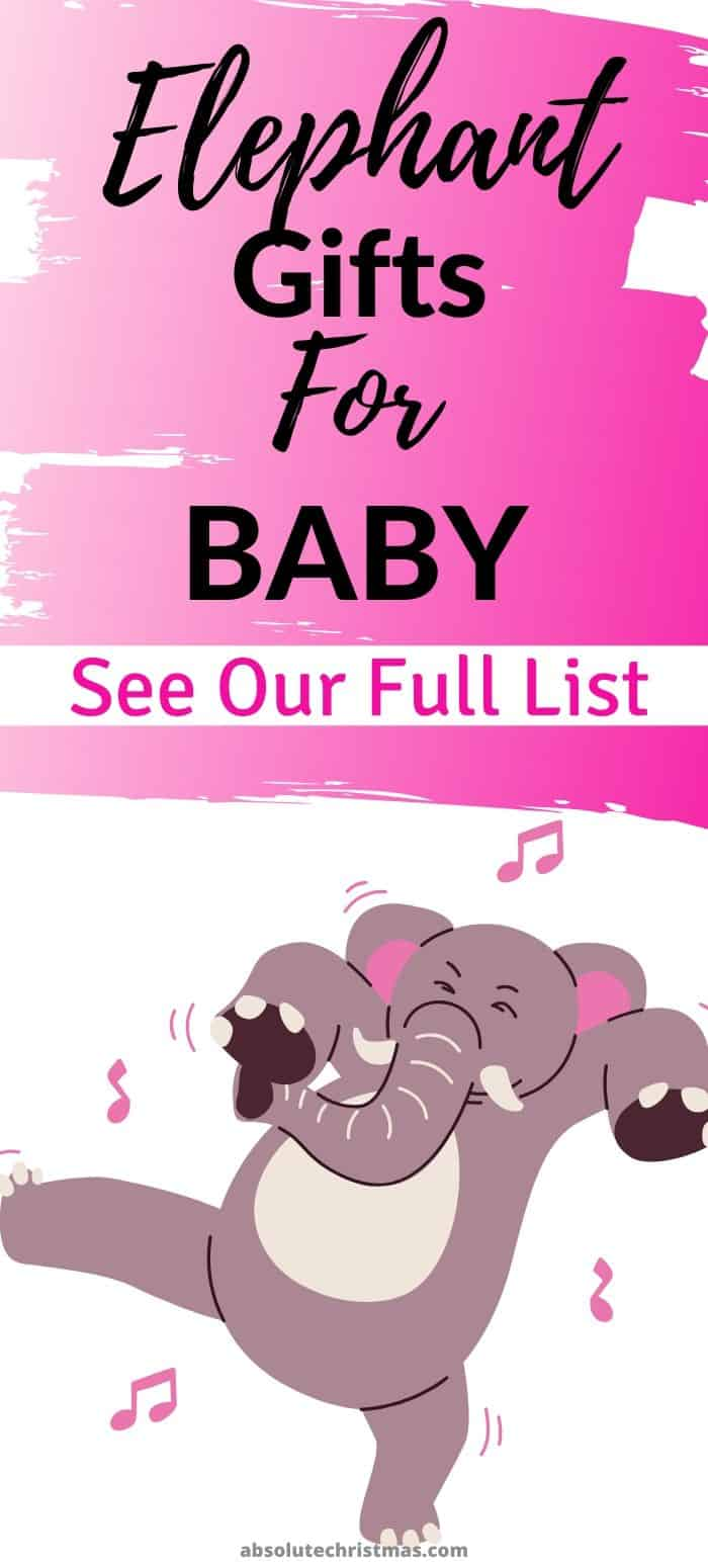 Elephant Gifts for Baby