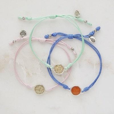 I Will Always Support You Custom Sand Bracelets