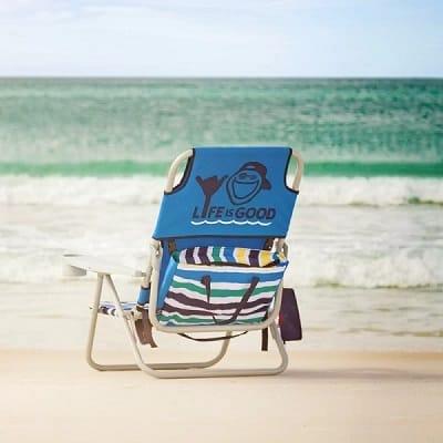 Life is Good Reclining Beach Chair