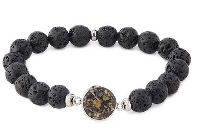 Men's Custom Karma Bracelet - Beach Jewelry