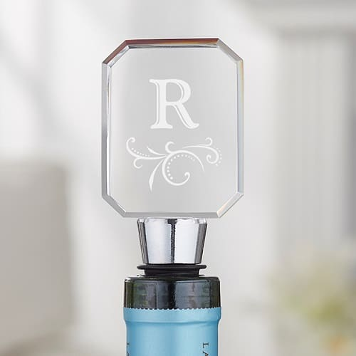 Monogram Bottle Stopper