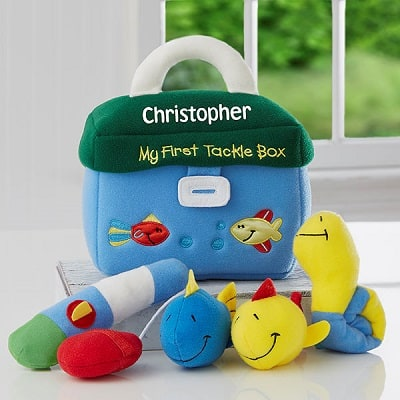 My First Tackle Box Personalized Playset by Baby Gund