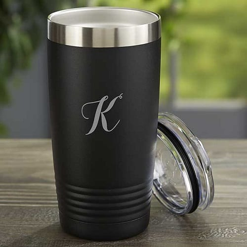 Personalized 20 oz. Vacuum Insulated Stainless Steel Tumbler - Monogrammed Gifts