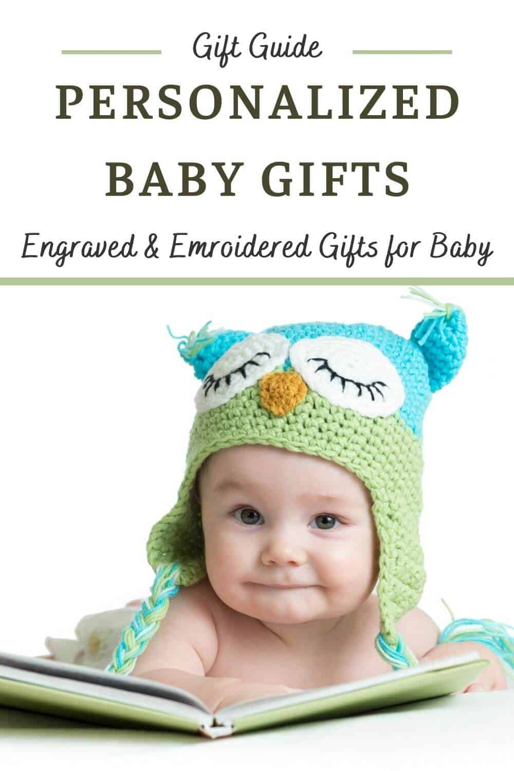 Personalized Baby Gifts - Unique Engraved and Embroidered Gifts for a Newborn Baby