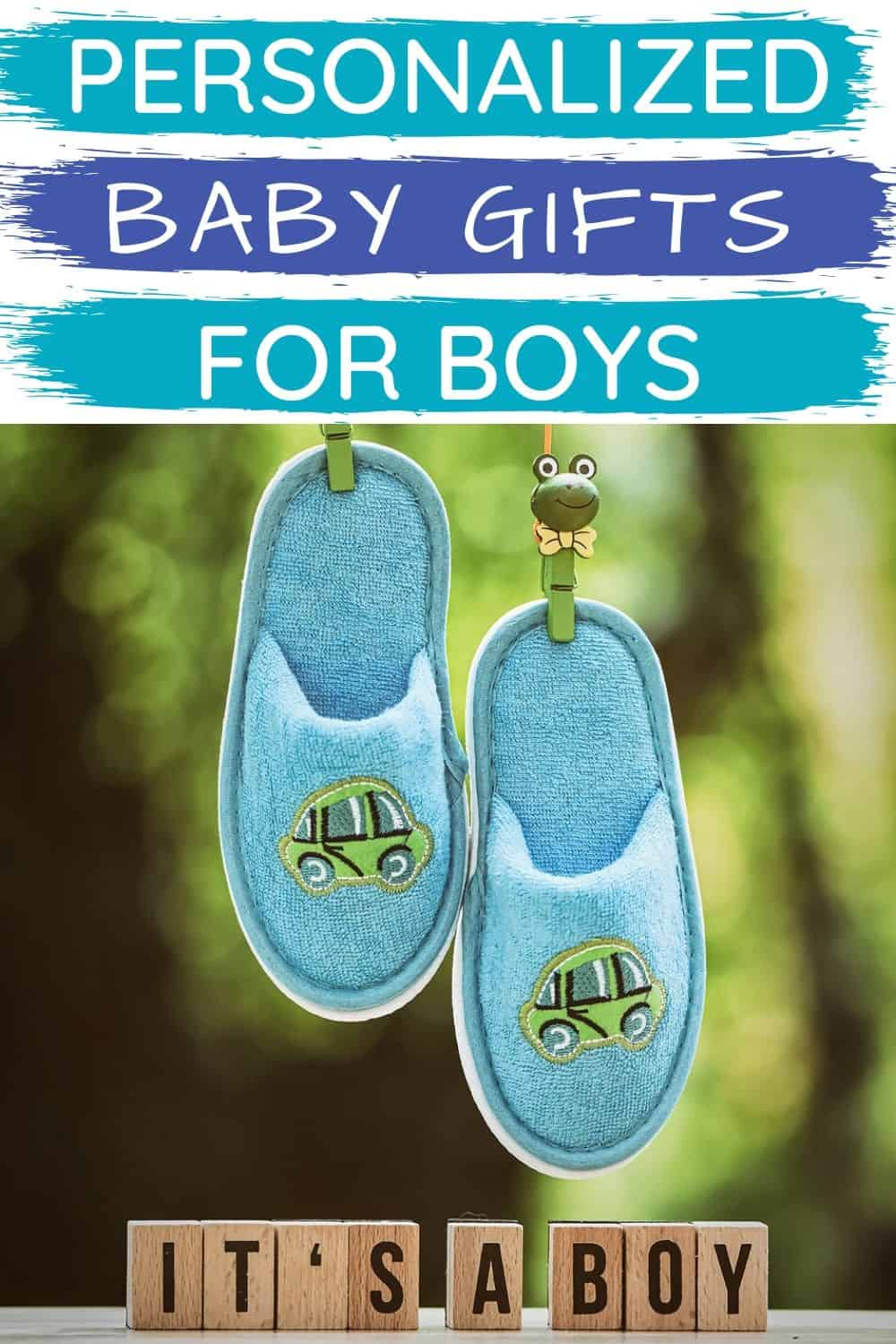 Personalized Baby Gifts for Boys - Baby Boy Gift Ideas