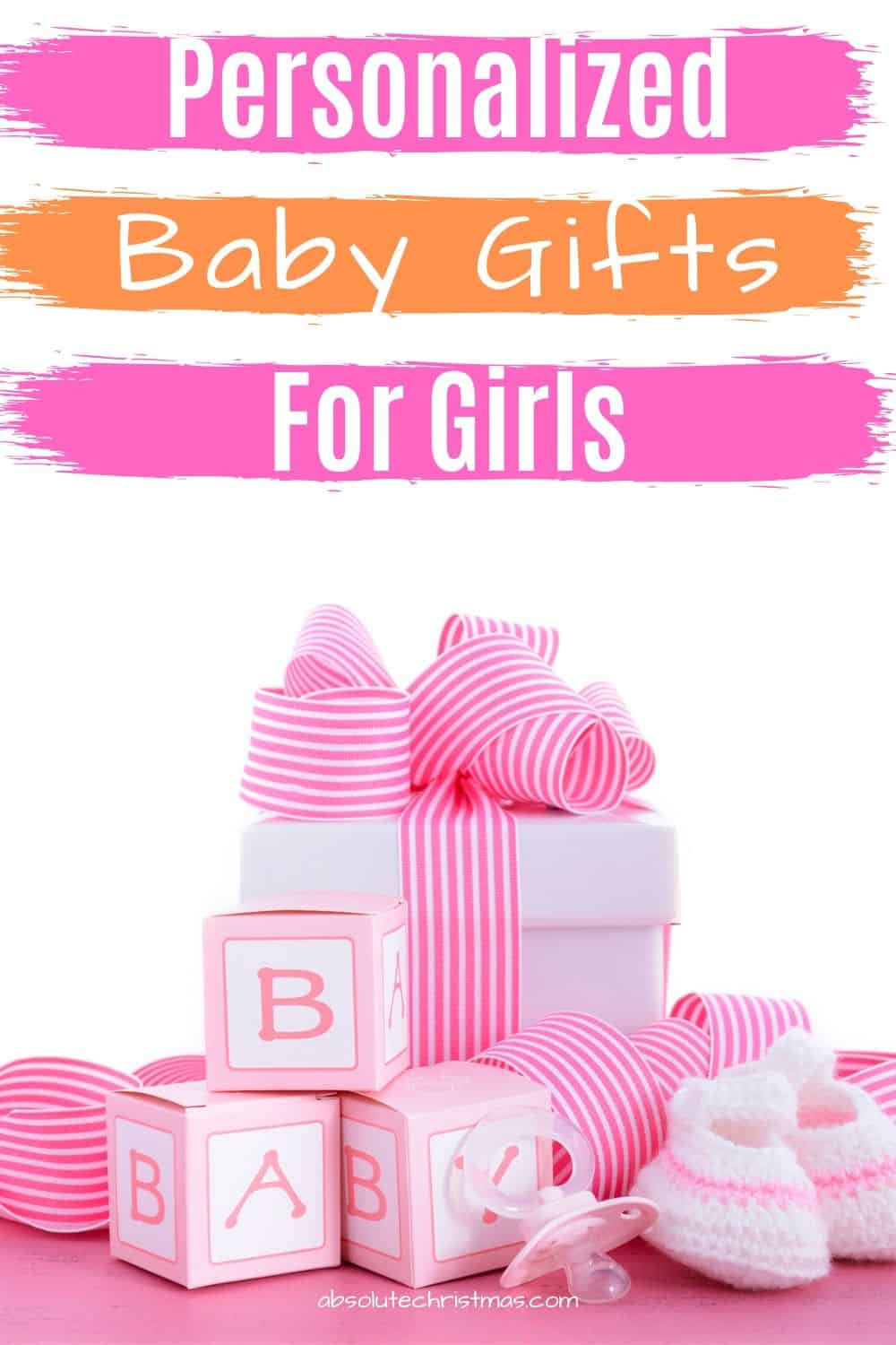 Personalized Baby Gifts for Girls - Baby Girl Gift Ideas