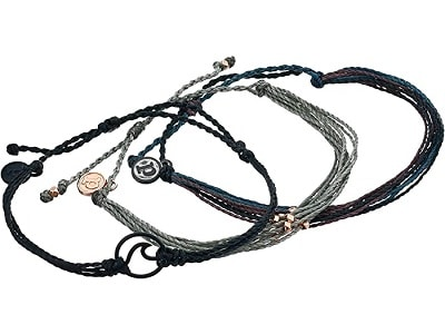 Pura Vida Dark Wave 3-Pack Bracelet