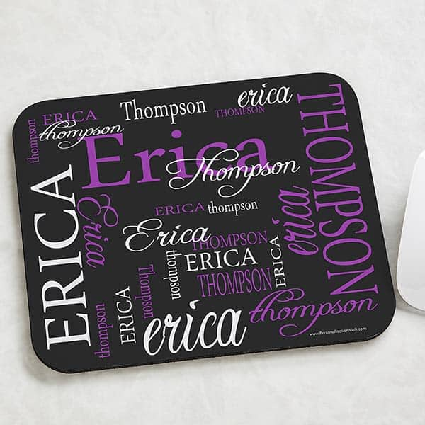 Signature Style Personalized Mouse Pad
