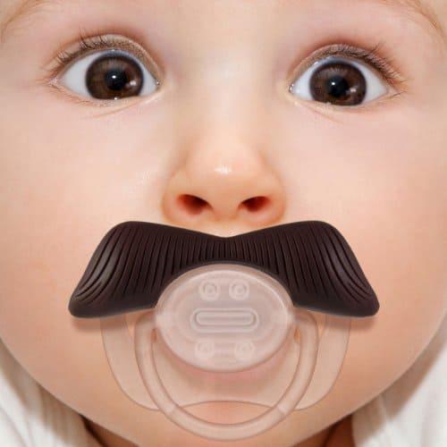 Stachifier - The Ladies Man Mustache Pacifier