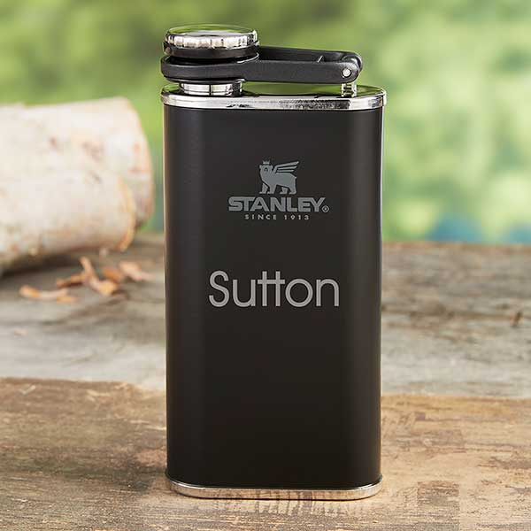 Stanley Personalized 8 oz. Wide Mouth Flask