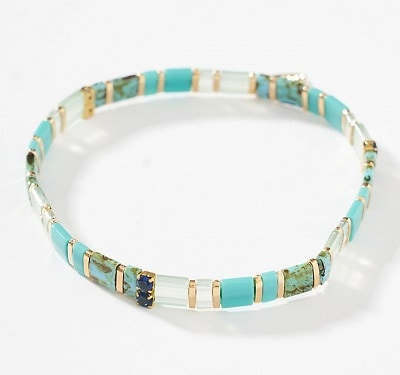 Sunshine Stretch Bracelet - Beach Jewelry Ideas