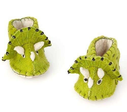 Triceratop Booties