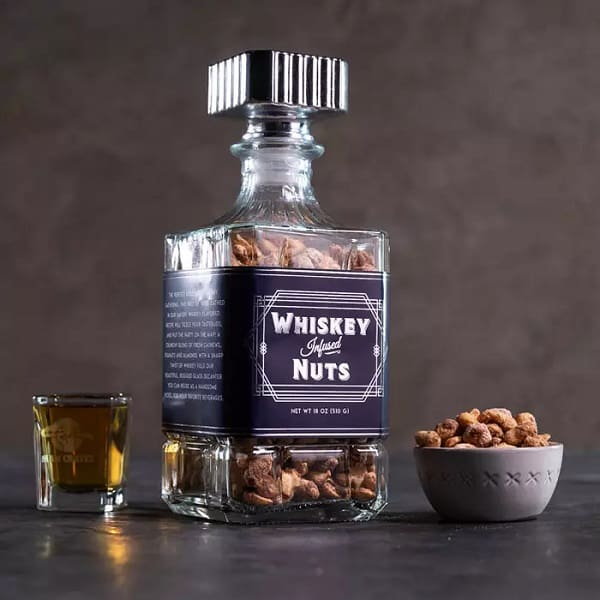 Whiskey Nuts Decanter