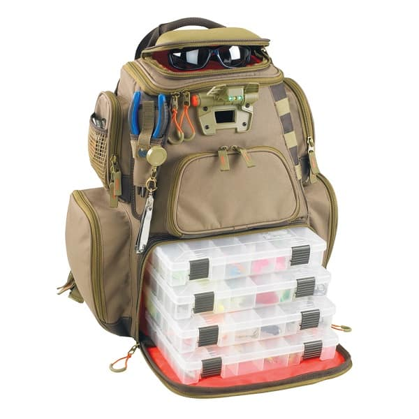 Wild River Tackle Lighted Backpack