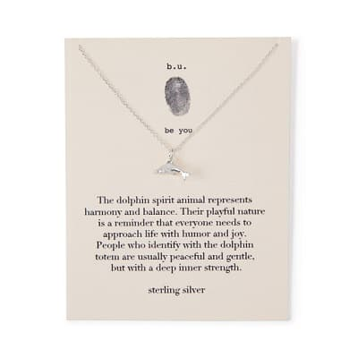 Dolphin Spirit Guide Necklace