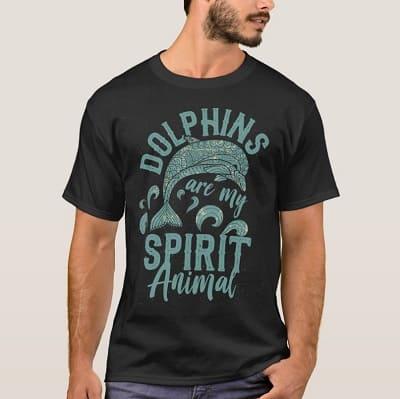 Dolphin Spirit Animal Shirt
