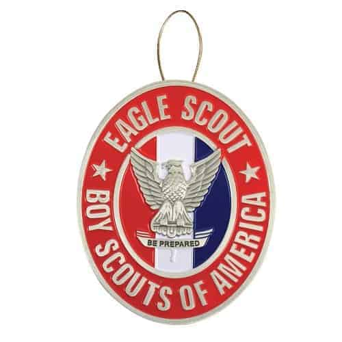 Eagle Scout Holiday Ornament