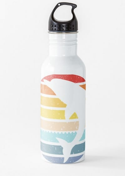 Jumping Dolphin Water Bottle