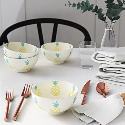 Pineapple Dessert Bowl (Set of 4)