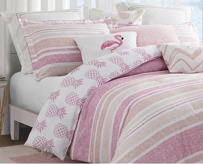 Pineapple Reversible Comforter Set