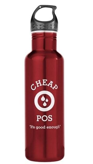 Cheap O-Pos Water Bottle