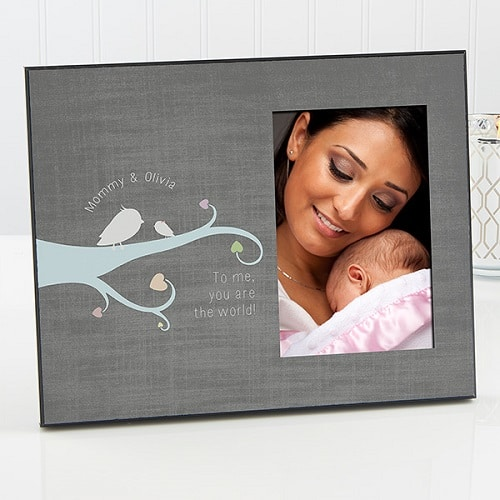 New Mom Personalized Photo Frame