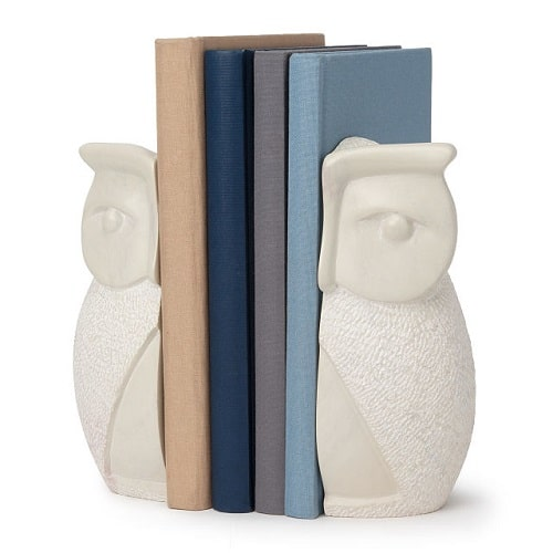 Owl Soapstone Bookends