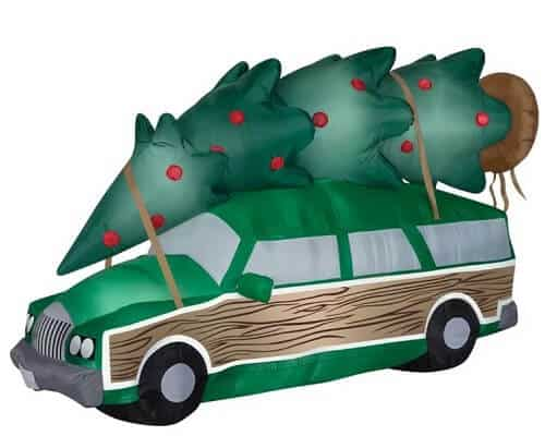 Christmas Vacation Station Wagon Christmas Inflatable