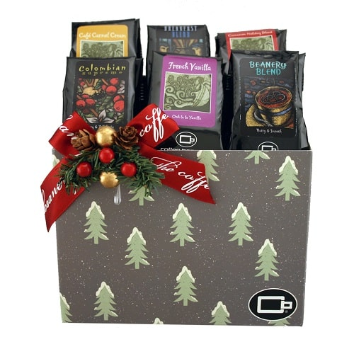 Coffee Sampler Variety Pack Gift Basket
