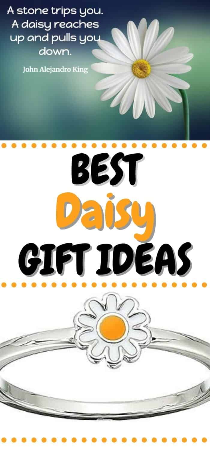 Cute Daisy Gift Ideas - Gifts for Daisy Lovers