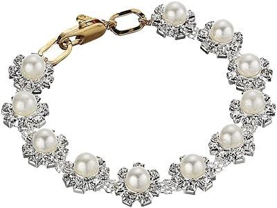 Daisy Pearl Bracelet
