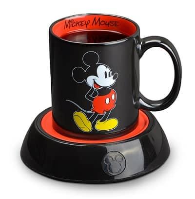 Disney Mickey Mouse Mug Warmer with 10 Ounce Mug