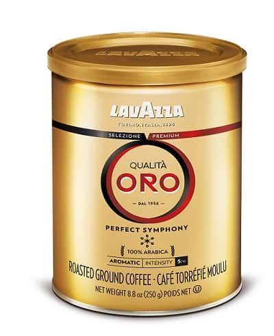 Lavazza Qualita Oro Ground Coffee Blend, Medium Roast