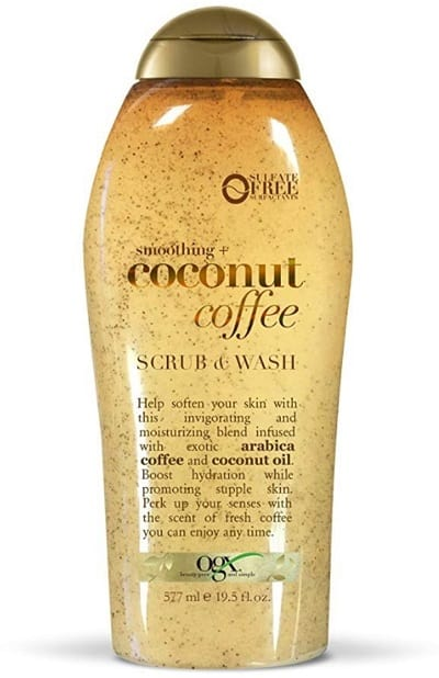 OGX Coconut Coffee Body Scrub and Wash