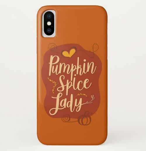 Pumpkin Spice Lady Phone Case