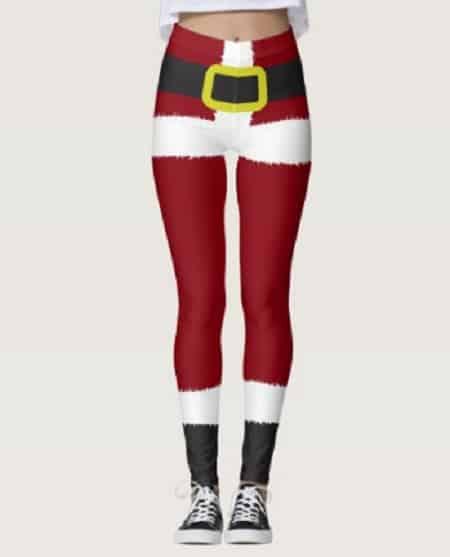 Santa Claus Christmas Leggings