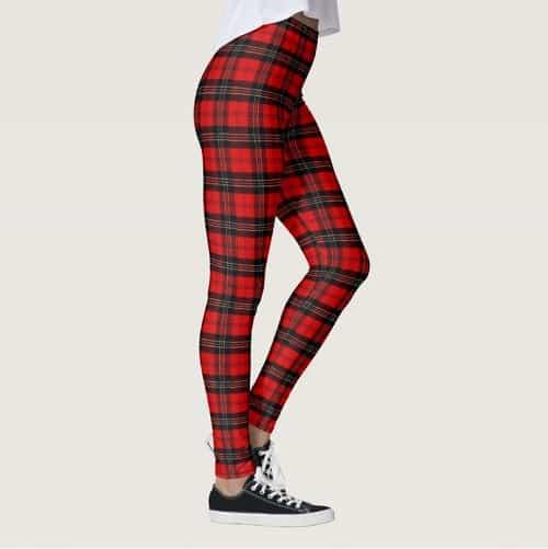 Tartan Plaid Leggings
