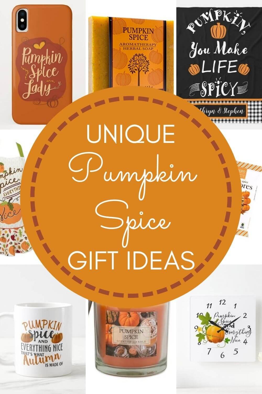 Unique Pumpkin Spice Gifts