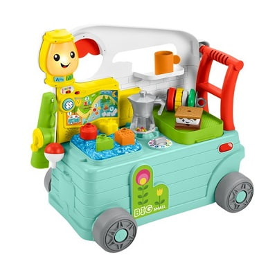 Fisher-Price Laugh & Learn 3-in-1 On-the-Go Camper