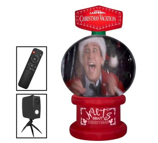 8 FT Living Projection Christmas Vacation Movie Snow Globe Inflatable