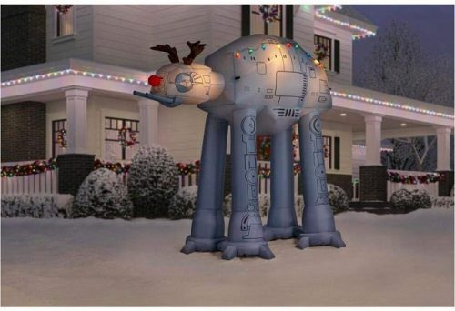 8.5 ft. AT-AT Reindeer Star Wars Christmas Inflatable