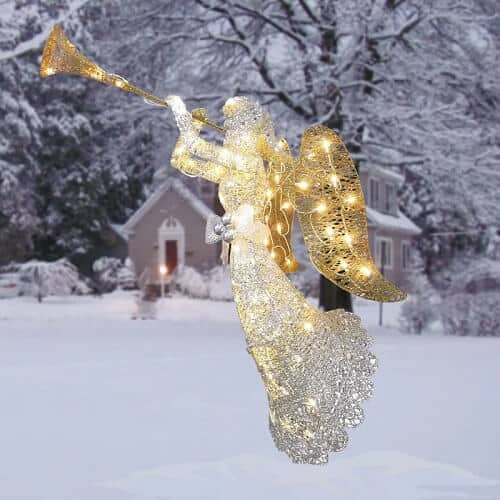 Angel Christmas Decoration Lighted Display