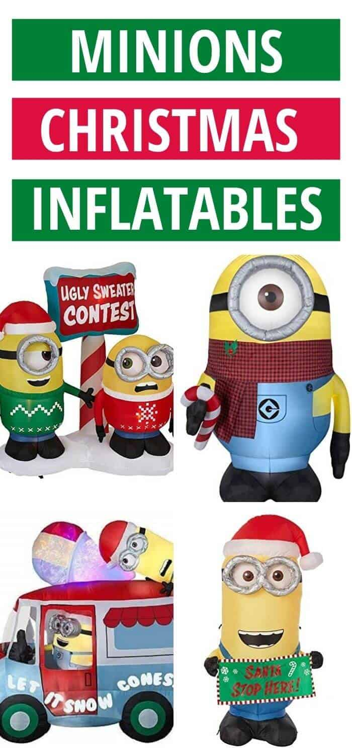 Best Minions Christmas Inflatables