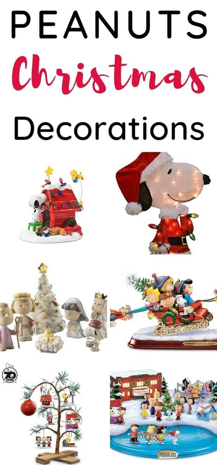 Best Peanuts Christmas Decorations
